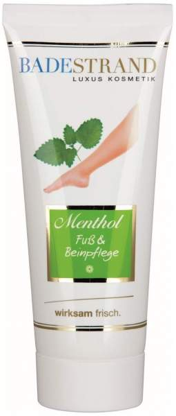 Menthol- Fuß & Beinpflege 100 ml