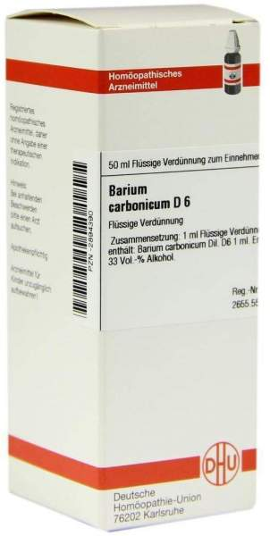 Barium Carbonicum D6 50 ml Dilution