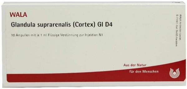 Wala Glandula Suprarenalis Corex Gl D4 10x1ml Ampullen