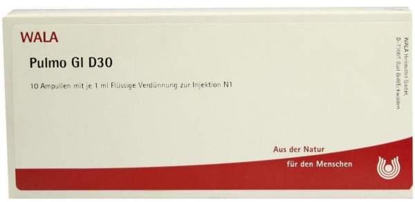Pulmo Gl D 30 Ampullen