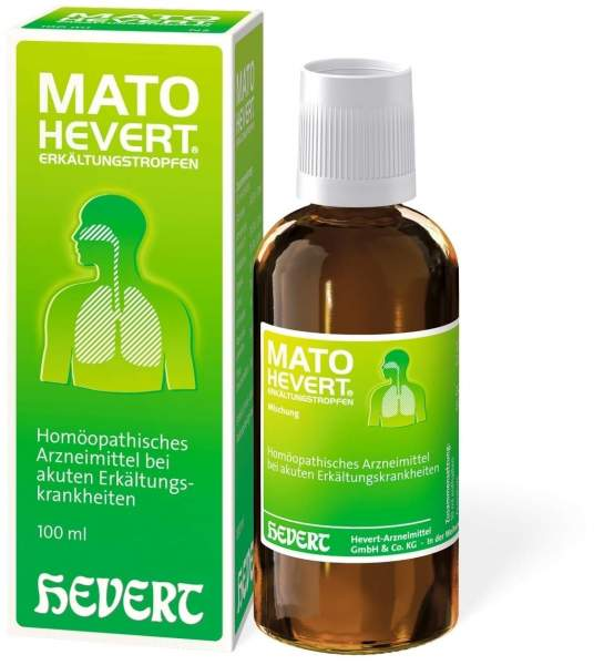 Mato Hevert Erkältungstropfen 100 ml