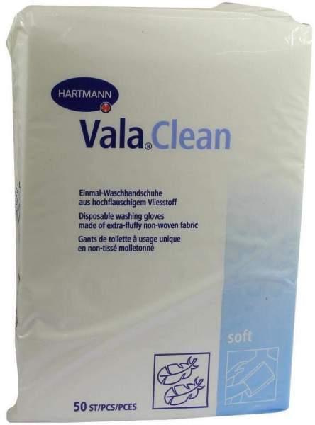 Valaclean Soft Einmal Waschhandschuhe 50 Stück