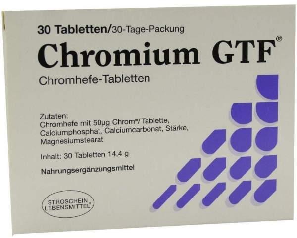 Chromium Gtf Tabletten