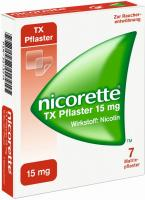 Nicorette Tx Pflaster 15 mg 7 Matrixpflaster
