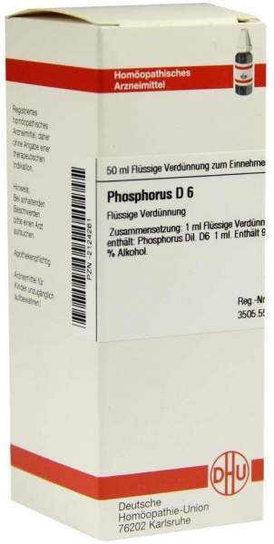 Phosphorus D6 Dilution 50 ml Dilution