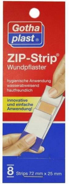 Zip Strip wasserabweisend 72 x 25 mm 8 Pflaster