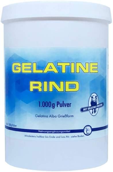 Gelatine Rind Beutel 1000 g Pulver