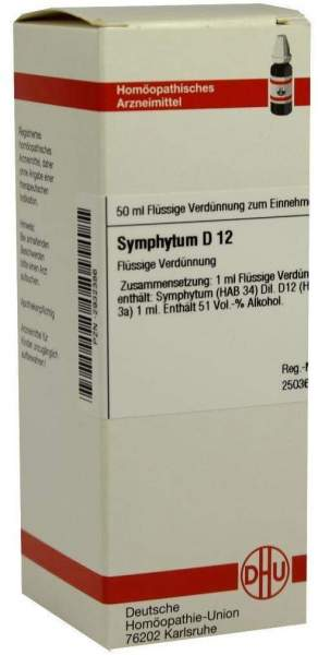 Symphytum D12 Dilution 50 ml Dilution