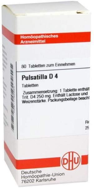 Pulsatilla D 4 80 Tabletten