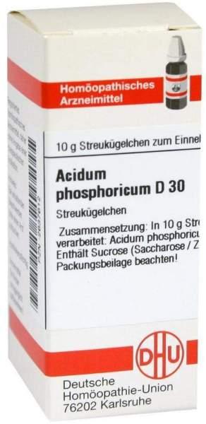 Acidum Phosphoricum D30 10 G Globuli