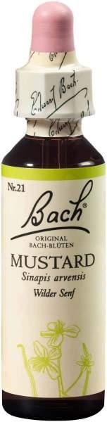 Bachblüten Mustard 20 ml Tropfen
