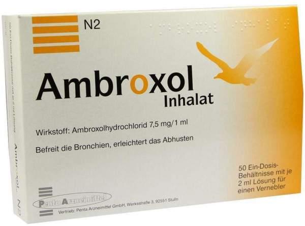 Ambroxol Inhalat 50 X 2 ml Inhalationslösung