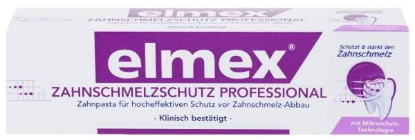 Elmex Zahnschmelzschutz Professional 75 ml Zahnpasta
