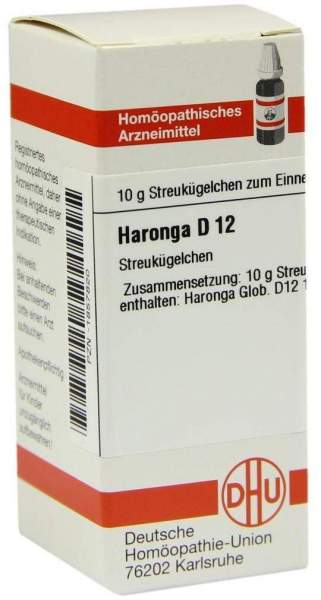 Haronga D 12 Globuli