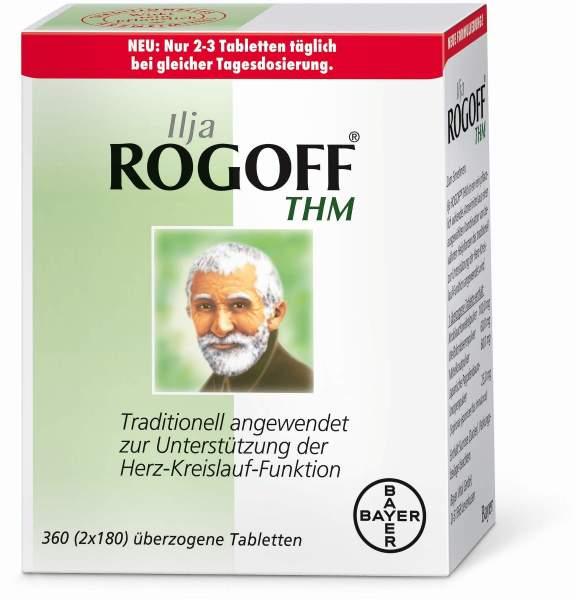 Ilja Rogoff THM überzogene Tabletten 360 Stück