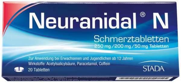 Neuranidal N 20 Schmerztabletten