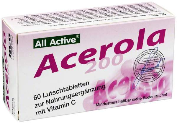 Acerola 200 All Active Lutschtabletten