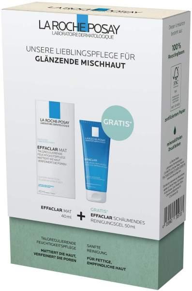 La Roche Posay Effaclar Mat Routineset + gratis Effaclar Reinigungsgel 50 ml