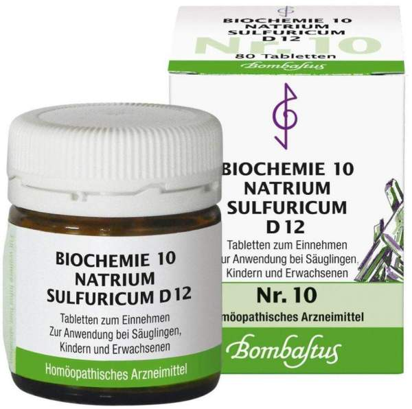 Biochemie 10 Natrium Sulfuricum D12 80 Tabletten