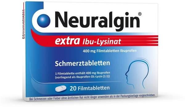 Neuralgin extra Ibu-Lysinat 20 Filmtabletten