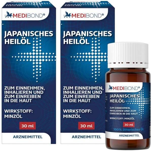 Japanisches Heilpflanzenöl Medibond 2 x 30 ml
