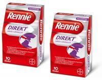 Rennie Direkt Mikro Granulat zuckerfrei 2 x 20 Stück