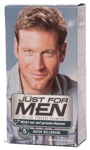 Just For Men Tönungsshampoo Natur Hellbraun