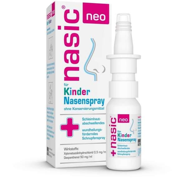 Nasic neo für Kinder 10 ml Nasenspray