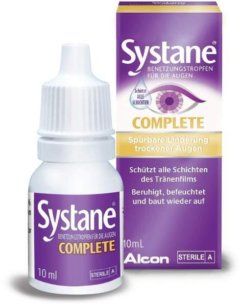 Systane Complete Benetzungstropfen für die Augen 10 ml