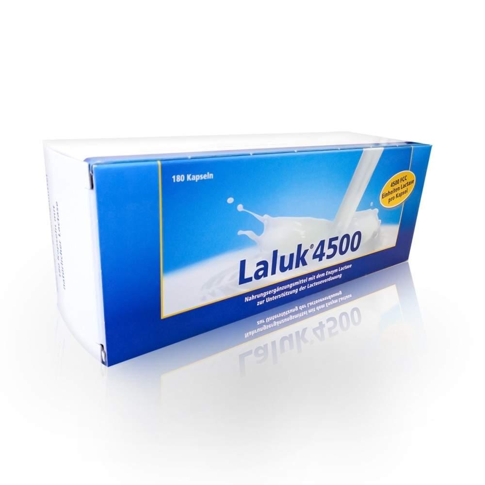 Strathmann GmbH & Co.KG Laluk 4500 Kapseln - 180Stück