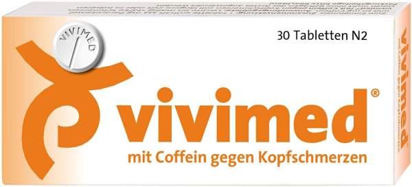 Vivimed mit Coffein 30 Tabletten