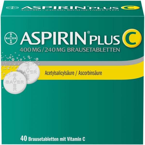 Aspirin Plus C 40 Brausetabletten