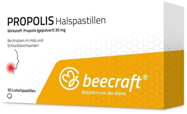 Beecraft Propolis 30 Halspastillen