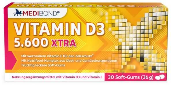 Vitamin D3 5600 XTRA Medibond 30 Soft Gums