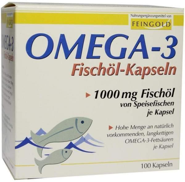 Omega 3 Fischöl 100 Kapseln