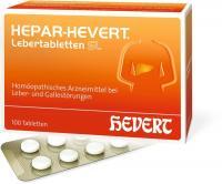Hepar Hevert Lebertabletten Sl 100 abletten