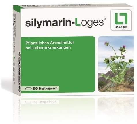 Silymarin-Loges Hartkapseln 60 Stück