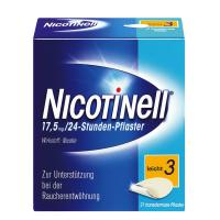 Nicotinell 17,5 mg 24-Stunden Pflaster 21 Pflaster, transdermal