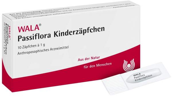Wala Passiflora Kinderzäpfchen 10 Kindersuppositorien
