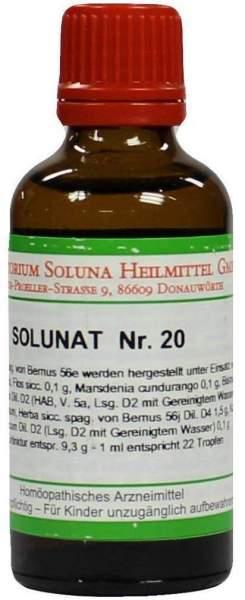 Solunat Nr.20 50 ml Tropfen