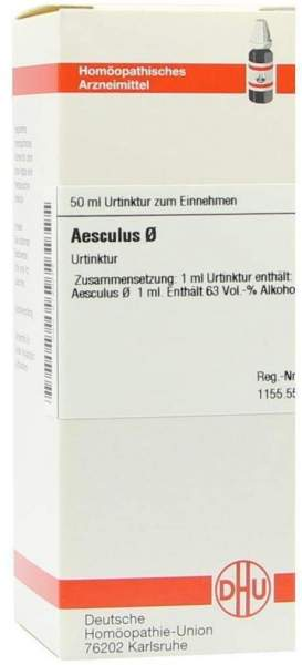 Aesculus Urtinktur Dhu 50 ml Dilution