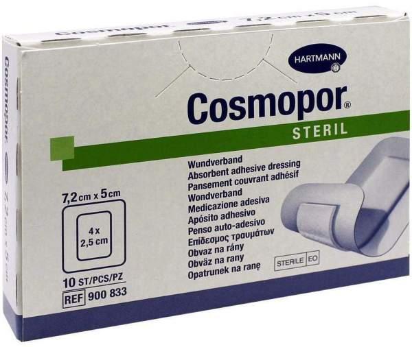 Cosmopor Steril 7,2 cm x 5 cm 10 Pflaster