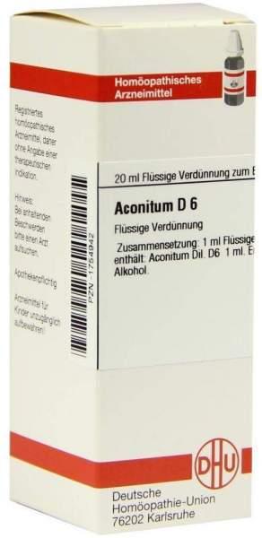 Aconitum D6 20 ml Dilution