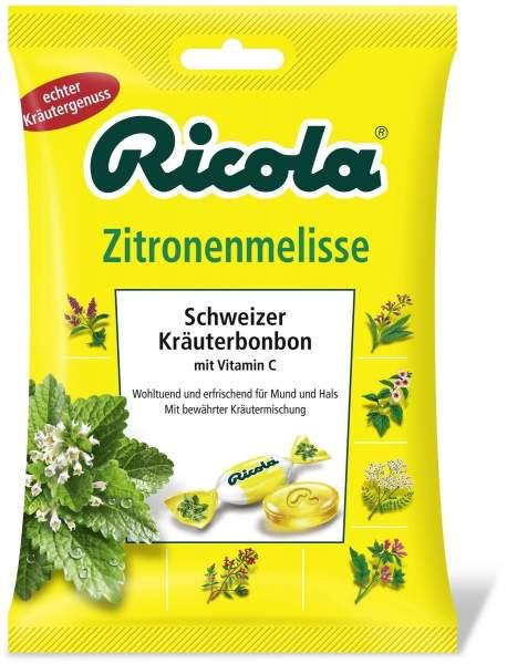 Ricola Mit Zucker Zitronenmelisse 75 G Bonbons