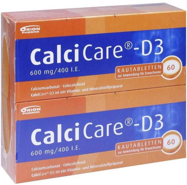 Calcicare D3 120 Kautabletten