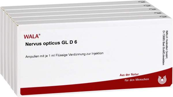 Nervus Opticus Gl D 6 Ampullen 50 X 1 ml
