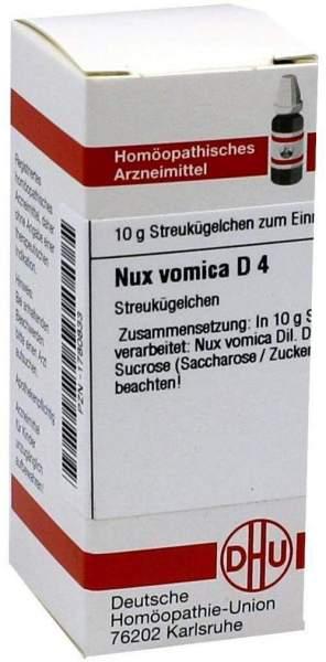 Nux Vomica D4 Dhu 10 G Globuli