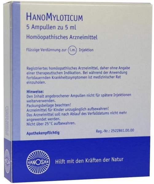 Hanomyloticum Injektionslösung 5 X 5 ml Injektionslösung