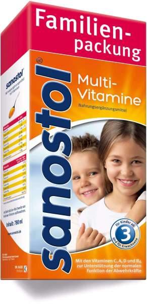 Sanostol Multivitaminsaft 780 ml