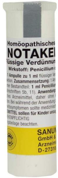 Notakehl D 5 1 X 1 ml Ampullen